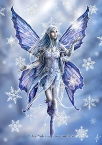 Snowflake fairy by *Ironshod