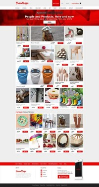 Free Psd Pinterest Shopping Template Style by Enes Denis