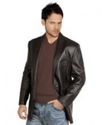 Mens leather blazers - leather blazers for men