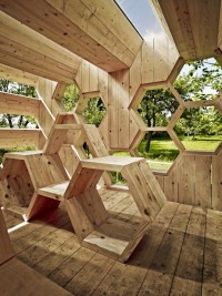 Check out this incredible Human-Scaled Honeycomb! | Architizer