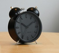 Karlsson Twin Bell Alarm Clock | Fancy Crave