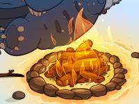Campfire by David Lanham