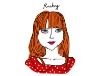 #6 - ruby by Maria João