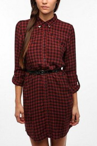 Ecote Vagabond Shirtdress - Urban Outfitters