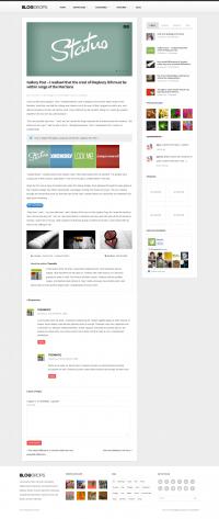 Blogdrops - Infinite Blogging Theme - ThemeForest Previewer