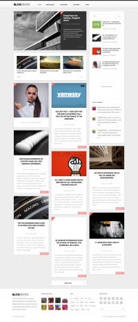 Blogdrops - Infinite Blogging Theme - ThemeForest Previewer