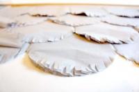 Ruffled® | DIY Fringed Scalloped Backdrop