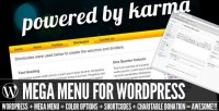 WordPress - PBK Mega Menu for Wordpress   CodeCanyon