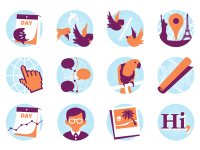 Twitter Counter profile checker icons by Alexander Griffioen