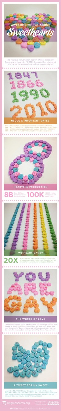 Awesome Things About Sweethearts [infographic] | Education Insights
