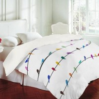 DENY Designs Home Accessories | Belle13 Happy Spring Duvet Cover