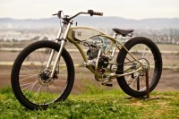 Motorised Bicycle by Wolf Creative Customs - Silodrome