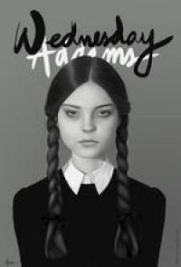 Wednesday Addams Art Print by Albert Lee | Society6