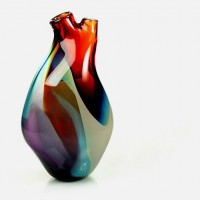 Heart shaped vase | Murray Mitchell