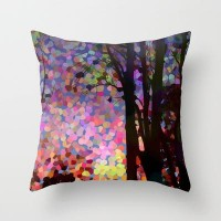 Jellybean Skies Throw Pillow by Catherine Holcombe | Society6