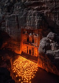 F&O Forgotten Nobility - travelthisworld: Petra's Light Show ? Petra,...
