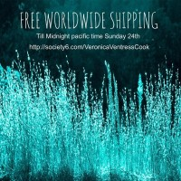 Free Shipping WORLDWIDE by Veronica Ventress | Society6