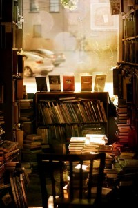 Bookshelf Porn, antique bookstore