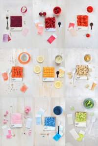 Delicious Pantone Swatch Tarts | WANKEN - The Art & Design blog of Shelby White