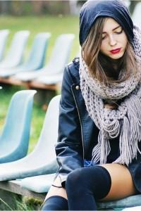Echarpe à la mode femme