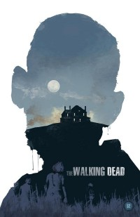 The Walking Dead - Zombie Movie Poster Design by Michael Rogers