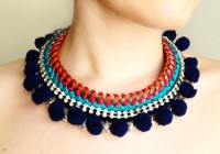 DIY Ethnic choker | a n n a • e v e r s - DIY Fashion blog