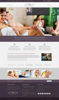 Vitality, Joomla Health Beauty SPA Salon Template | Premium Download