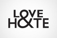 Typeverything.com Love & Hate logo by Jack... - Typeverything