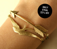 Bird & Arrow Linked Bracelets - Favorites Uncovet