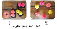 DIY : Hippy Flower Headband // Serre-tête à Fleurs -