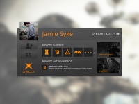 Gaming Widget by Jamie Syke
