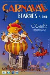 Les affiches | Carnaval Biarnés 2013 à Pau - 6 au 12 février 2013