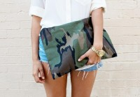 DIY CAMO CLUTCH « a pair & a spare