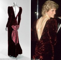 Album Street : Princess Diana dresses are up for auction