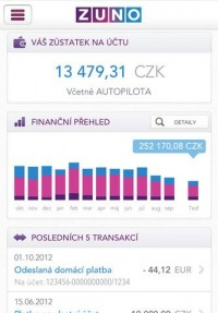 ZUNO Mobile Banking CZ for iPhone, iPod touch, and iPad on the iTunes App Store