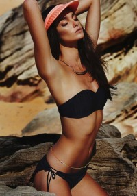 Fashion — Hannah Saul by Gary Golembiewski for Seafolly Swimwear's Campaign