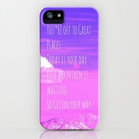 Today is your day iPhone Case by Veronica Ventress | Society6