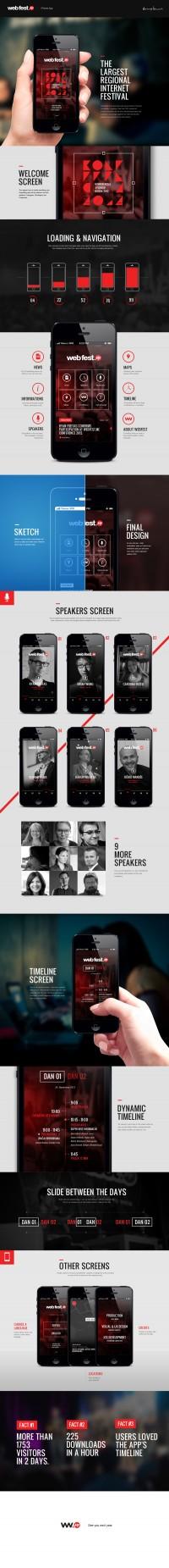 WebFest iPhone App
