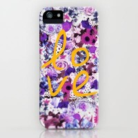 LOVE, LOVE, LOVE iPhone Case by Nika | Society6