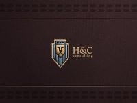 H and C logo design by Srdjan Kirtic