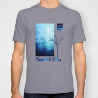 Morning view T-shirt by Viviana González | Society6