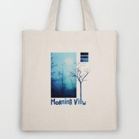 Morning view Tote Bag by Viviana González | Society6