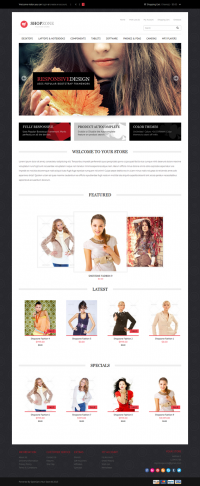Shopzone, Premium Opencart Fashion E-Store Theme | Premium Download