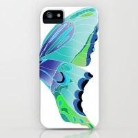 Butterfly Blues iPhone Case by Catherine Holcombe | Society6