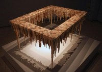 Spectacular Wood Sculptures: City Series by McNabb & Co - Design Milk