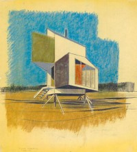 Cabin Porn: Prefab house concept for Alcoa by Charles W. Moore...