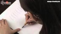 """Manga drawing lesson 002 """"Pen skills"""" en-sub. ????????????????? - YouTube"""