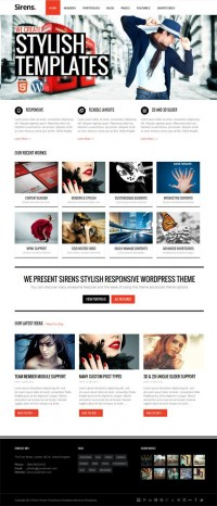 Sirens, WordPress Premium Multi-Purpose Business Theme | WP Download