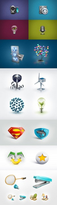 Icon Design for Inspiration and Download