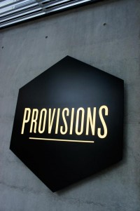 "Always in Studio: eleventheleven: ""Provisions functions as the..."